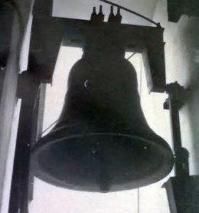 La mezzana posta sul campanile della chiesa di S. Elpidio V.